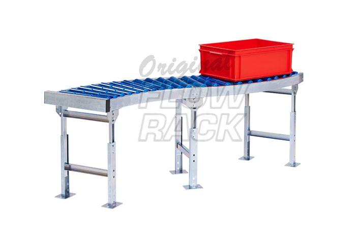 End profile roller conveyor