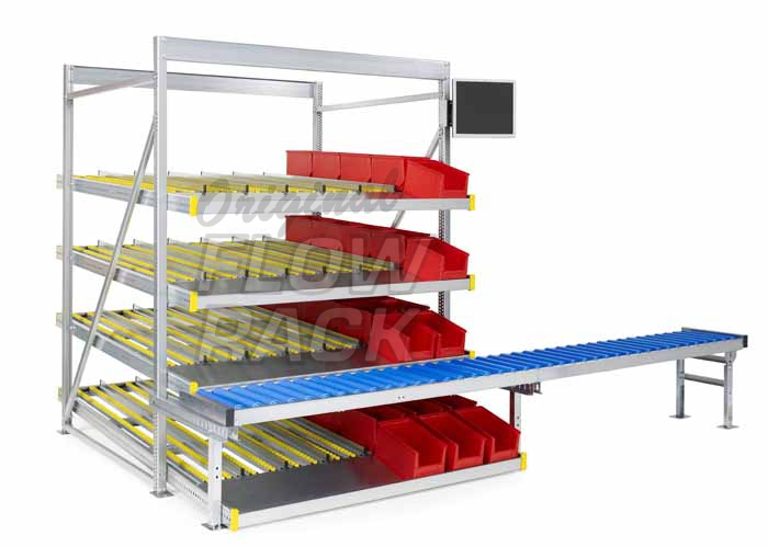 L-stand roller conveyor (special)