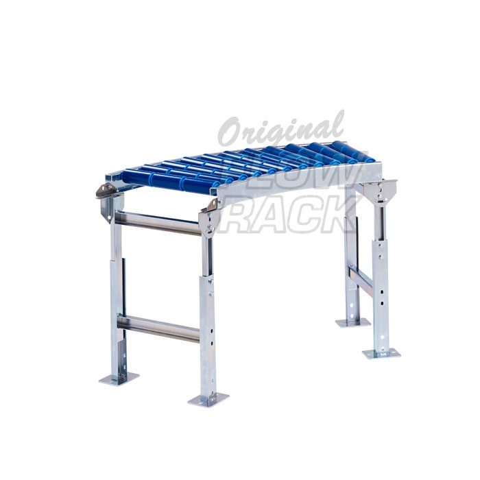 Roller conveyor curve 45-degrees